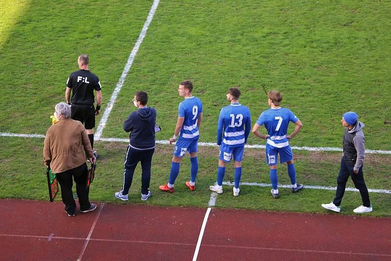 FK Ústí - Blansko, FNL 2020/2021. Fotbalisté Ústí nad Labem ilustrační
