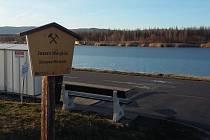 Jezero Matylda v Mostě pod Hněvínem