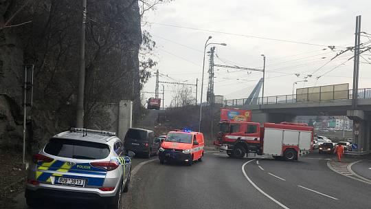U železniční trati pod Mariánskou skálou našli ve čtvrtek 21. února mrtvé tělo