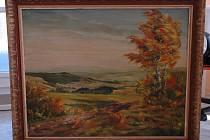 Do dražby jde 30 předmětů včetně obrazu akademického malíře Rudolfa J. Zábrodského z roku 1943, plazmového televizoru či vrtačky.