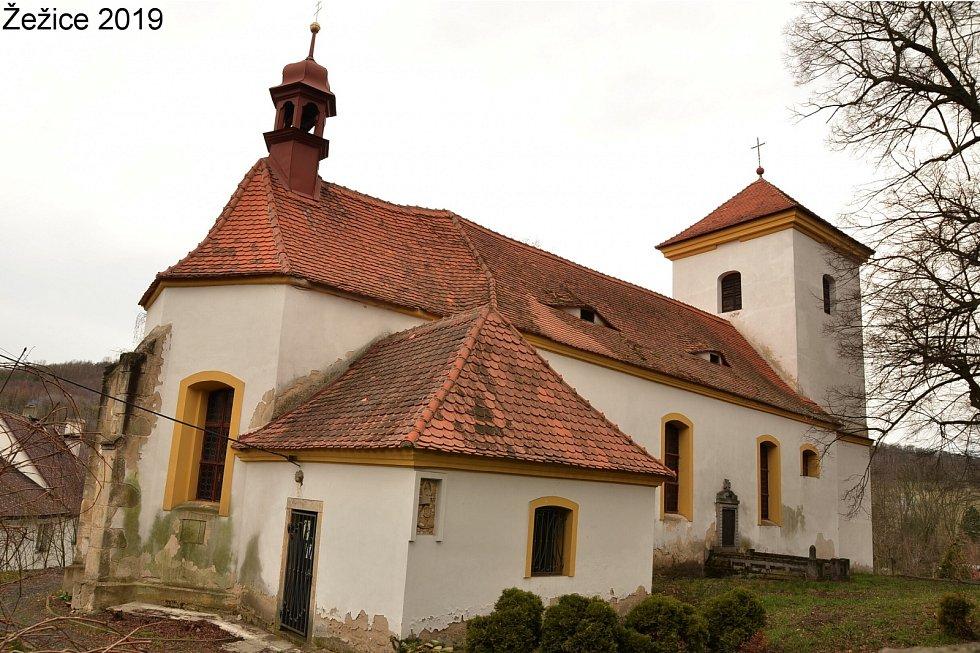 Po stopách starých pohlednic - ústecké kostely.