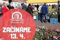 Severočeské farmářské trhy se vrací v úterý 13. dubna.