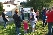 Komunitní zahrada v Krásném Březně.