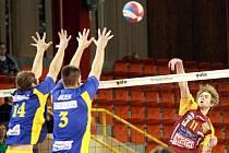 Naposledy ústečtí volejbalisté prohráli v utkání Českého poháru v Liberci 0:3. Teď si chtějí spravit náladu na půdě Odoleny Vody.