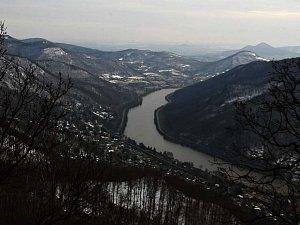 Výhled z vrchu Vysoký Ostrý