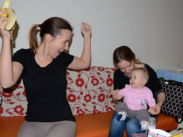 Rodinné centrum Domeček nabízí barevné zázemí plné nápadů.