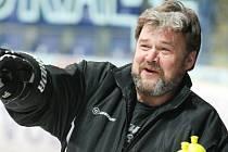 Trenér Ústeckých Lvů Jaromír Šindel.