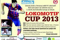FC Lokomotif a Ústecký deník zvou na charitativní futsalové utkání.