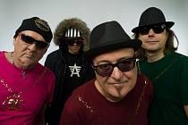 Slávek Janda a jeho rockoví chlapci.