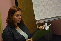 LUCIE JANDOVÁ, předsedkyně komise Křesadel.