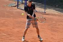 Republikový turnaj mladých tenistů.