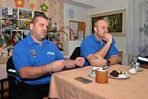 Městská policie besedovala se seniory v Trmicích.