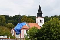 Kostel svatého Mikuláše v ústecké čtvrti Všebořice