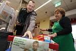 V sobotu proběhla ve vybraných prodejnách v celé republice potravinová sbírka.