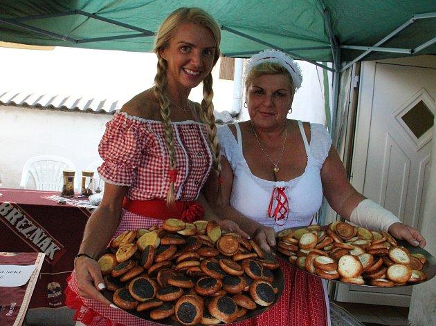 Oslava vína a burčáku v Brné.