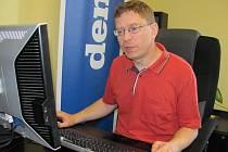 Hostem online rozhovoru byl ředitel muzea Gustav Krov.