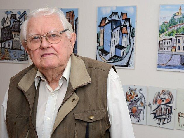 Malíř Bedřich Brabec.