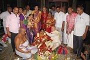 Svatby v Indii mívají až 500 hostů. Rosenkrancovi se však spokojili s účastí 25 příbuzných.