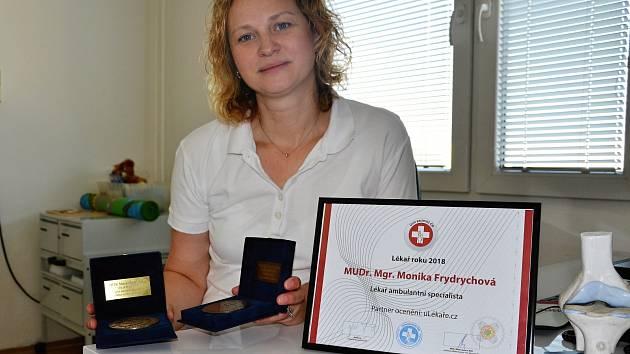 MUDr. Monika Frydrychová, dětský ortoped