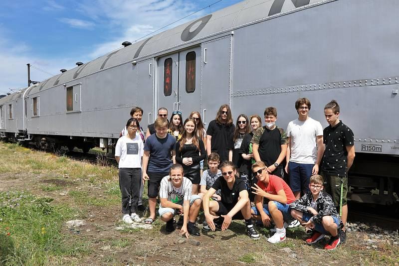 Revolution train v Ústí nad Labem