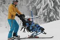 Na Telnici lyžovali postižení