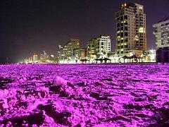 TEL AVIV. Jeden z vystavovaných snímků.