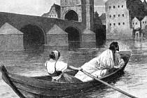 Lazebnice Zuzana pomáhá králi uprchnout ze zajetí.