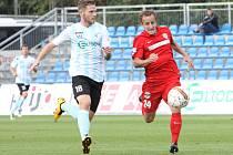 Alois Hyčka (vpravo) se na jeden zápas vrátil do Ústí.