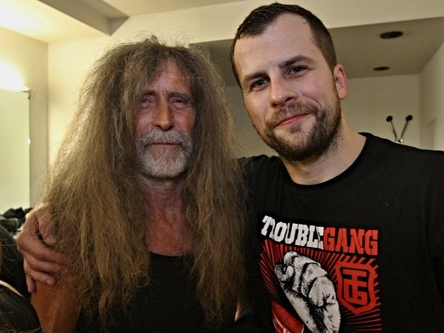 "OTEC OTA PETŘINA, jeho syn Otakar Petřina a jeho nové album ""Lone Survivor""."