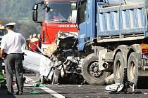 Tragická nehoda u Povrlů.