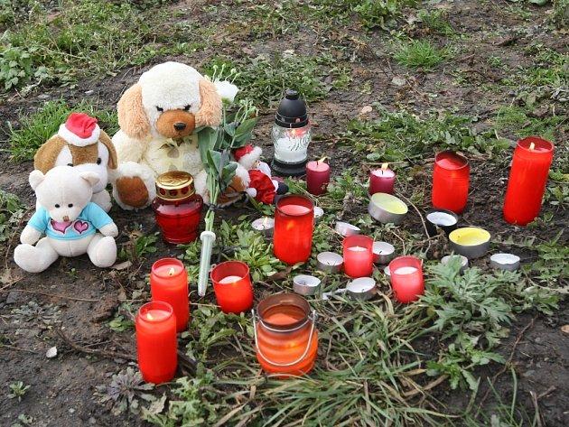 Právě v těchto místech vyhasl život jedenáctiletého chlapce.
