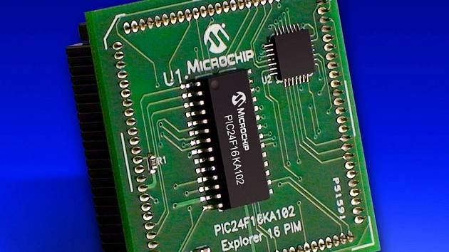 Mikročip. Ilustrační foto.