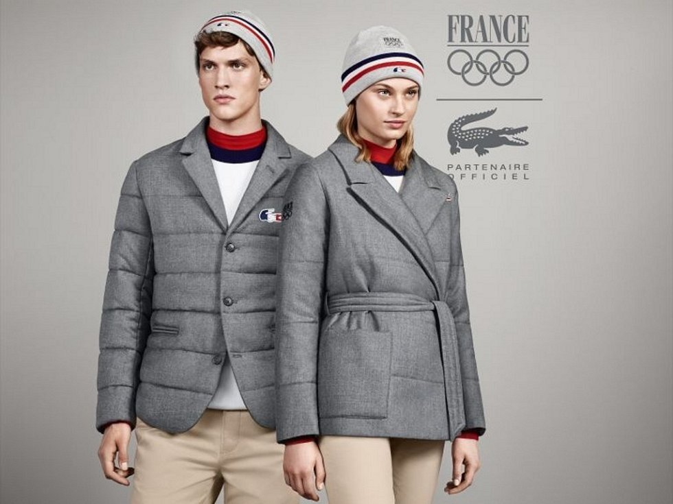 Francouzi se představí v klasice od firmy Lacoste.