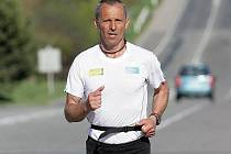 Ultramaratonec Miloš Škorpil.