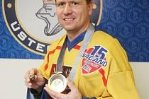Ústecký hokejista Jan Čaloun.