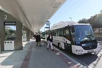 Nové autobusové nádraží otevřeli vloni v Litoměřicích. Ústečané mohou jen závidět.