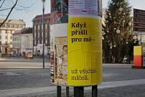 Kampaň Když... studentky Fakulty umění a designu UJEP