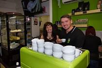 Otevření kavárny Kukang Coffe v Ústí nad Labem