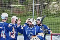 Hokejbalisté Elba DDM Ústí n. L. ilustrační