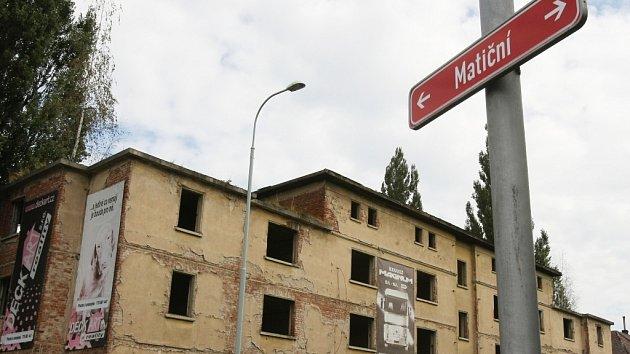 Matiční ulice.