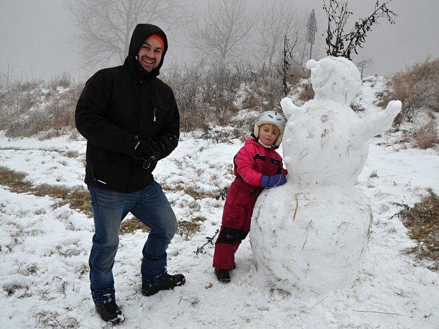 Malečovský sněhulák by určitě vyhrál.