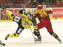 Ústečtí hokejisté naposledy prohráli v Jihlavě vysoko 1:5.