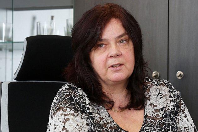 Lenka Šimůnková, ředitelka Krajské hygienické stanice vÚstínad Labem