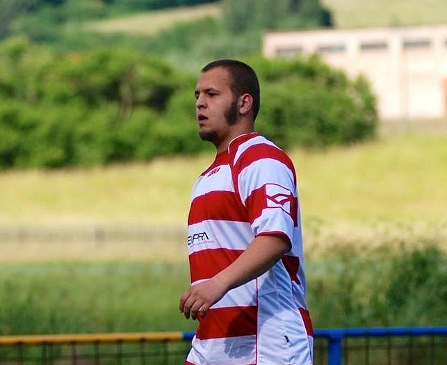 Fotbalista Jan Pechánek.