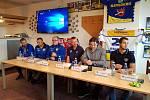 Předsezónní tisková konference HC Slovan Ústí nad Labem za účasti Jaromíra Jágra