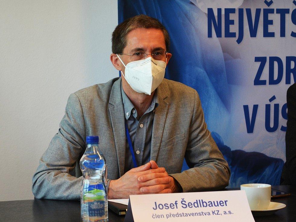 Člen představenstva Krajské zdravotní Josef Šedlbauer.
