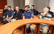 Jednání u krajského soudu v kauze čtyř důchodců, kteří unesli ženu.