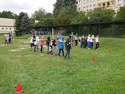 Adaptační kurz na ZŠ SNP v Ústí nad Labem.