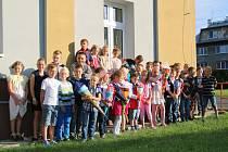 Školáci z Malečova.