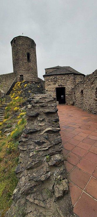 Na hradě Střekově v úterý 4. května poprvé otvírali